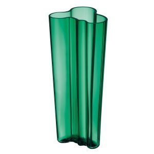 Iittala Aalto Vaasi Smaragdi Vihreä 25