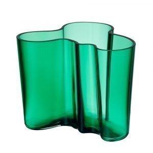 Iittala Alvar Aalto Maljakko Smaragdi 12 Cm