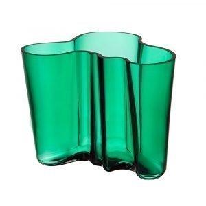 Iittala Alvar Aalto Maljakko Smaragdi 16 Cm