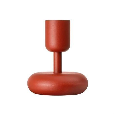 Iittala Nappula Kynttilänjalka Kyoto Punainen Pieni 107 mm