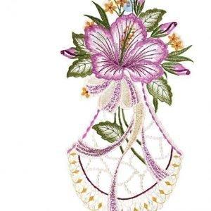 Ikkunakoriste Kukkanen Monivärinen