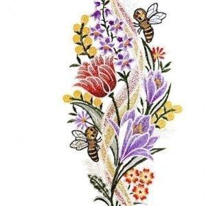 Ikkunakoriste Mehiläiset Monivärinen