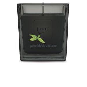 Ipuro Black Bamboo Tuoksukynttilä 125 G