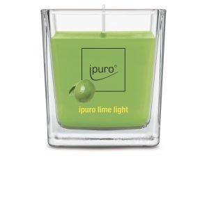 Ipuro Lime Light Tuoksukynttilä 125 G