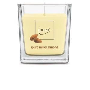 Ipuro Milky Almond Tuoksukynttilä 125 G