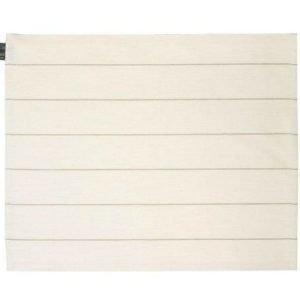 Jokipiin Pellava Liituraita-laudeliina 45 x 140 cm valkoinen