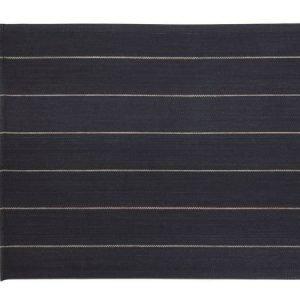 Jokipiin Pellava Liituraita-pefletti 45 x 55 cm musta