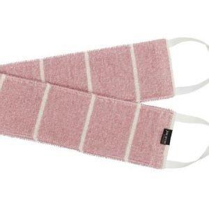 Jokipiin Pellava Liituraita-selänpesin vaaleanpunainen