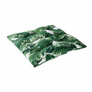 Jotex Big Leaf Istuintyyny Vihreä 40x40 Cm
