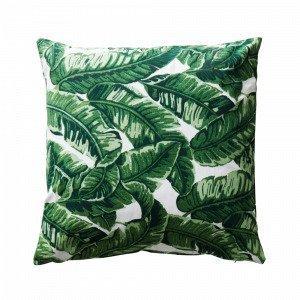 Jotex Big Leaf Tyynynpäällinen Vihreä 60x60 Cm