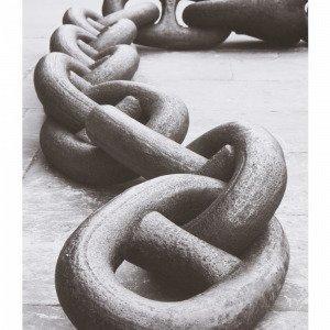 Jotex Chain Juliste Musta 50x70 Cm