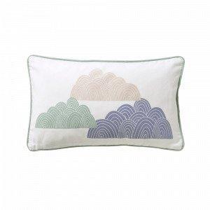 Jotex Clouds Tyynynpäällinen Ekologinen Vihreä 50x30 Cm