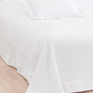 Jotex Diya Päiväpeite Kapeaan Sänkyyn Valkoinen 180x260 Cm