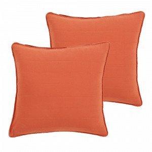 Jotex Drömma Tyynynpäälliset Punainen 50x50 Cm 2-Pakkaus