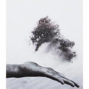 Jotex Hand Dust Juliste Valkoinen 50x70 Cm