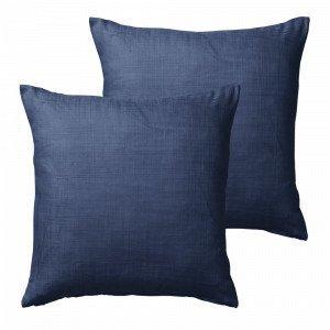Jotex Hilda Tyynynpäälliset Sininen 45x45 Cm 2-Pakkaus