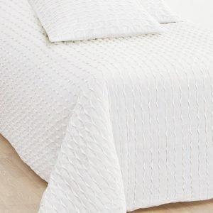 Jotex Johanna Päiväpeite Kapeaan Sänkyyn Valkoinen 180x260 Cm