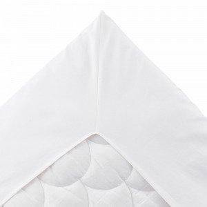 Jotex Kerstin Kulmalakana Valkoinen 160x200 Cm