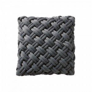 Jotex Knot Tyynynpäällinen Harmaa 45x45 Cm