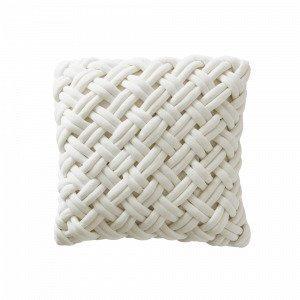 Jotex Knot Tyynynpäällinen Valkoinen 45x45 Cm