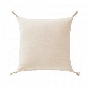 Jotex Kursiv Tyynynpäällinen Valkoinen 45x45 Cm