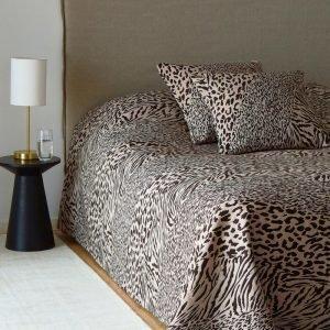 Jotex Leopardo Päiväpeite Parisänkyyn Luonnonvärinen 260x260 Cm