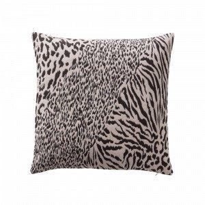 Jotex Leopardo Tyynynpäällinen Luonnonvärinen 50x50 Cm