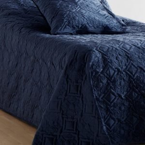 Jotex Macy Päiväpeite Kapeaan Sänkyyn Sininen 180x260 Cm