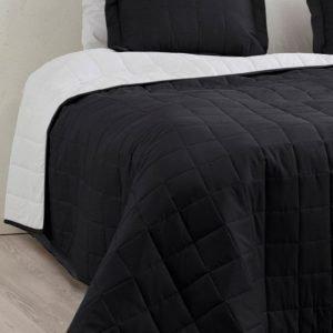 Jotex Matilda Päiväpeite Kapeaan Sänkyyn Musta 150x250 Cm