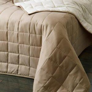 Jotex Matilda Päiväpeite Kapeaan Sänkyyn Valkoinen 150x250 Cm