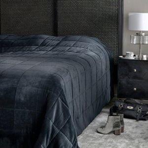 Jotex Mia P Päiväpeite King Size Sänkyyn Musta 360x360 Cm
