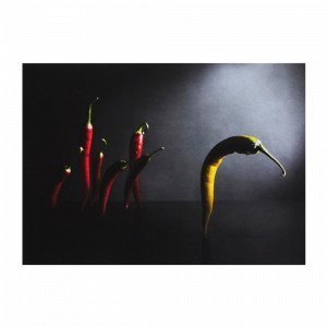 Jotex Peppers Juliste Musta 70x50 Cm
