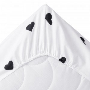 Jotex Sweetheart Kuminauhalakana Vauvan Ekologinen Musta 60x120 Cm