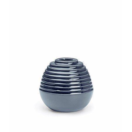 Kähler Cono kynttilänjalka sininen 8 cm