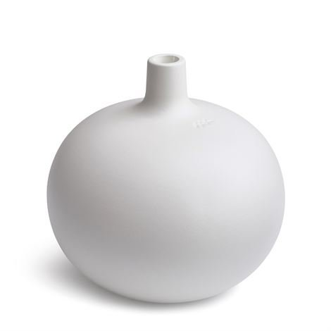 Kähler Globo Kynttilänjalka Valkoinen Iso