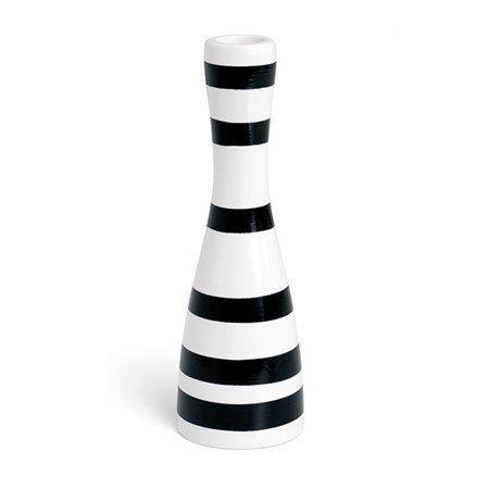 Kähler Omaggio Kynttilänjalka Musta 20 cm