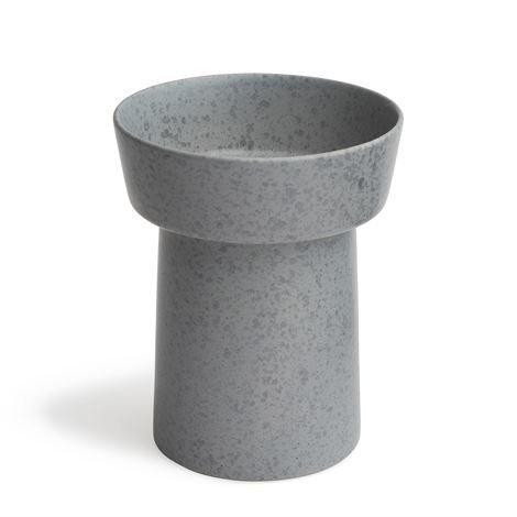 Kähler Ombria Maljakko Slate Grey Harmaa