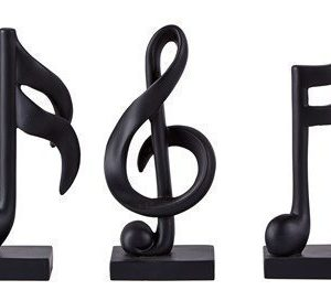 KJ Collection Koriste-esine Musta 17 cm