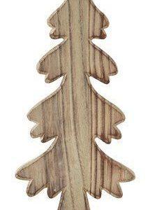 KJ Collection Koriste-esine Puu/Luonnollinen 25 cm