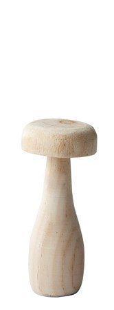KJ Collection Koriste-esine Sieni Puu kynttilä Luonnollinen 12 cm