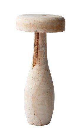 KJ Collection Koriste-esine Sieni Puu kynttilä Luonnollinen 17 cm