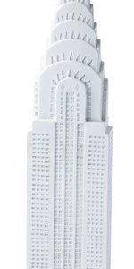 KJ Collection Koriste-esine porsliini Valkoinen 24 cm