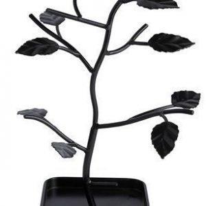 KJ Collection Korupuu Metalli Musta 28 cm