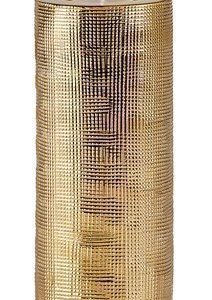 KJ Collection Kynttilälyhty Keramiikka Kulta 19 cm