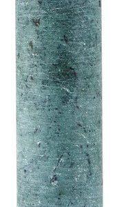 KJ Collection Kynttilälyhty Marmori Vihreä 5x15 cm