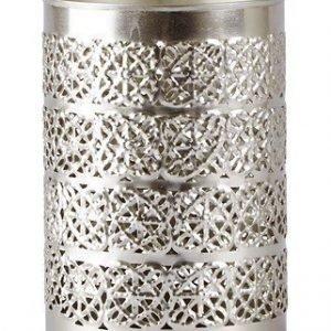 KJ Collection Kynttilälyhty Metalli Hopea 14
