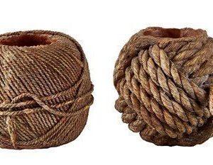 KJ Collection Kynttilälyhty porsliini Hiekka 8 cm