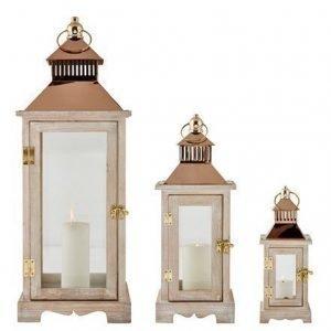 KJ Collection Lyhty Kupari 60 cm