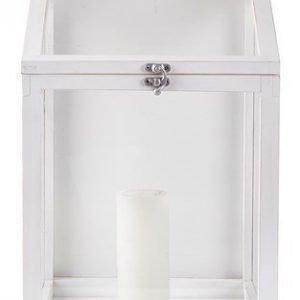KJ Collection Lyhty Valkoinen 40 cm