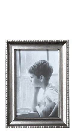 KJ Collection Taulunkehys Lasi/Hopea 10x15 cm